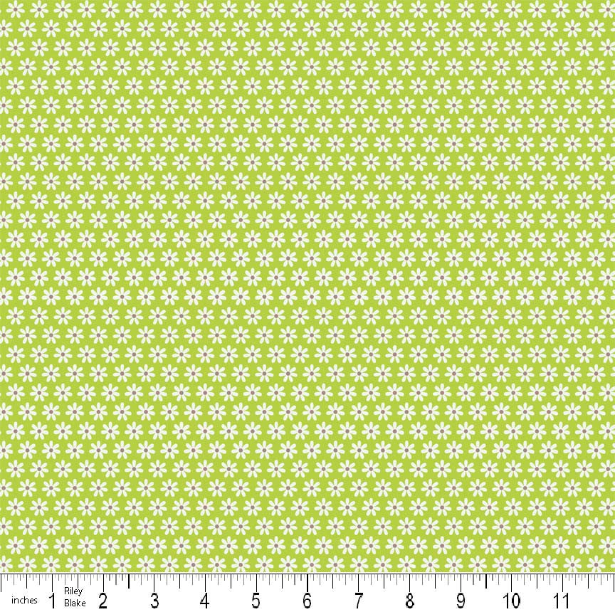 FQ0309 Feeling Groovy - Doodlebug Designs - Riley Blake - FLANNEL