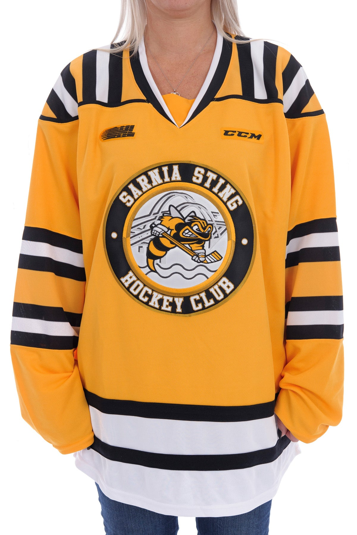 Adult CCM Replica Yellow Jersey
