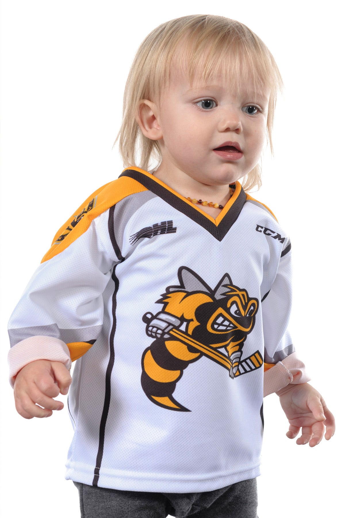 Toddler Sarnia Sting Jersey White by CCM