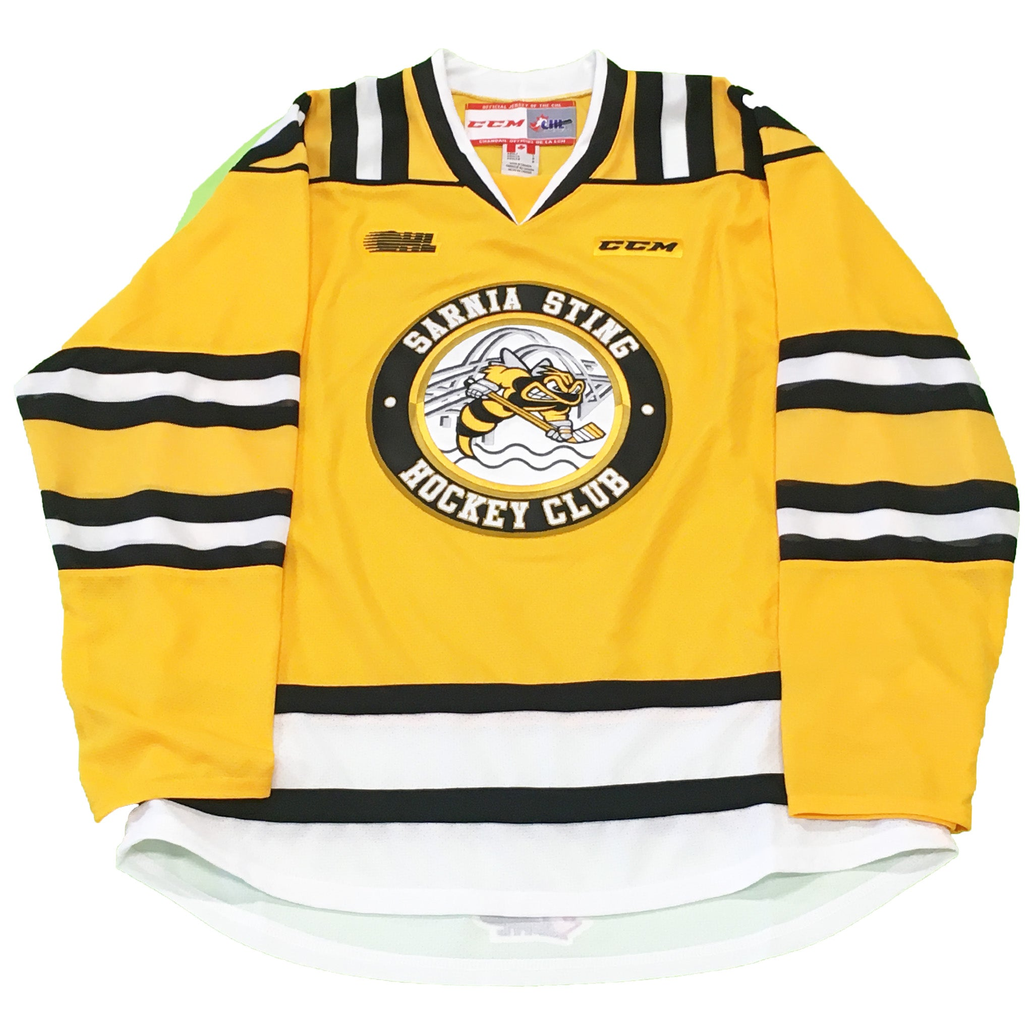 Youth CCM Replica Yellow Jersey