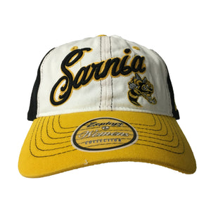 Women's Adjustable Hat- White or Yellow Peak