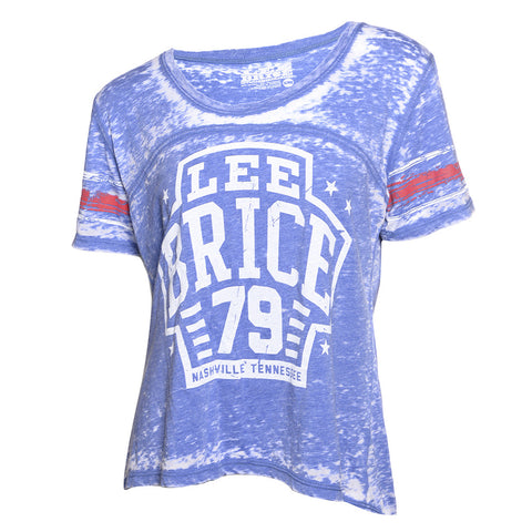 Lee Brice Blue Scoop Shirt