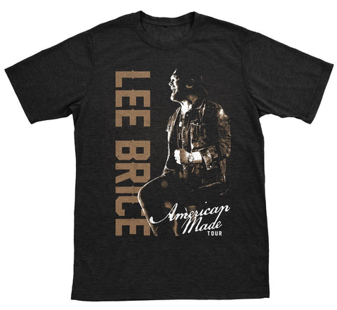 American Made Tour Black Tee