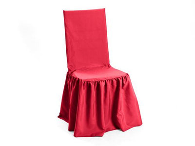 Neon Pink Premium Polyester Cane Back Chair Cover With Gathered Bottom U2013  Union Square Linens