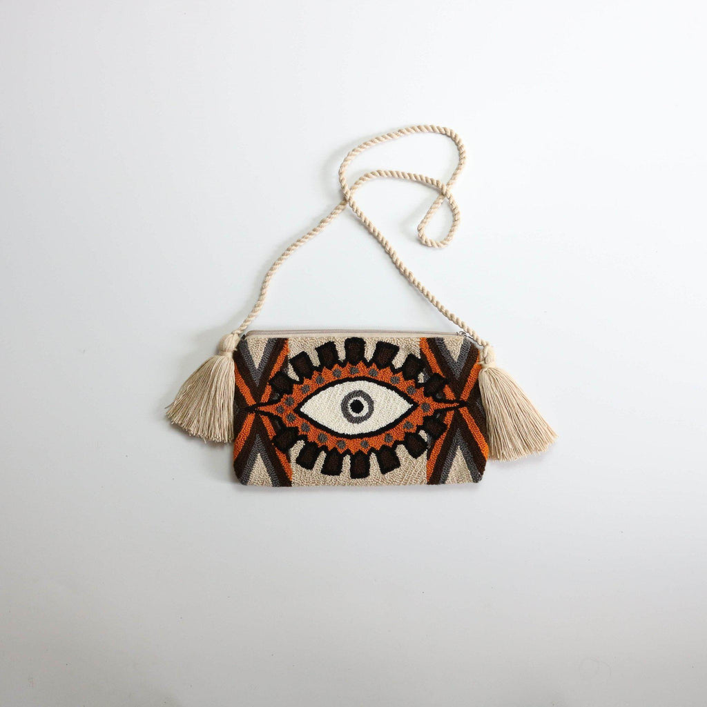 Third Eye H clutch - wayuu-dreaming
