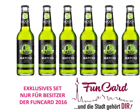 Exklusives funcard2016 Set - 6-Pack