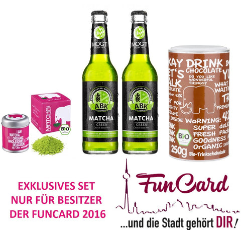 Exklusives funcard2016 Set - Kakao meets Beer