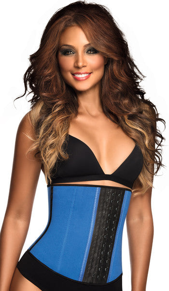 Ann Chery 2023 Sports 3 Hooks Latex Waist Trainer Blue/ Pink/ Purple