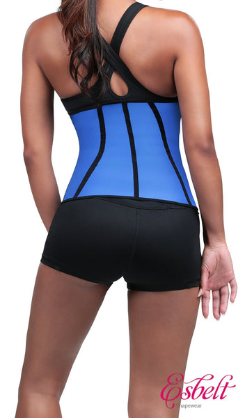 Esbelt ES062 Brazilian Latex Sports Waist Trainer (Blue)