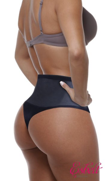 Esbelt High Compression Shaper Thong (Black)