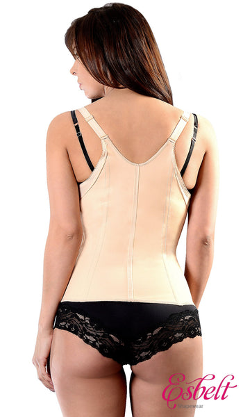 Esbelt ES431 Brazilian Latex Slimming Vest (Black)