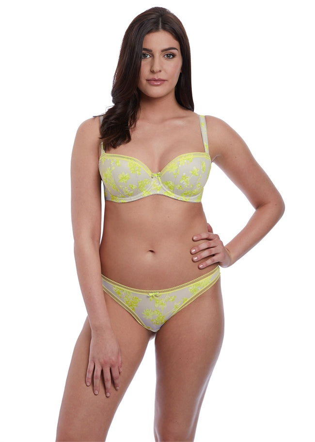 Lime Light Brazilian Thong