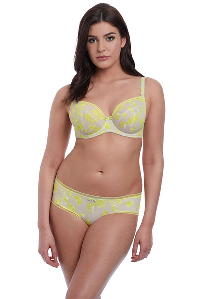 Lime Light Underwire Plunge Bra