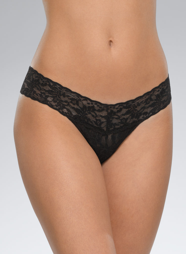 Signature Lace Low Rise Thong (more colors)