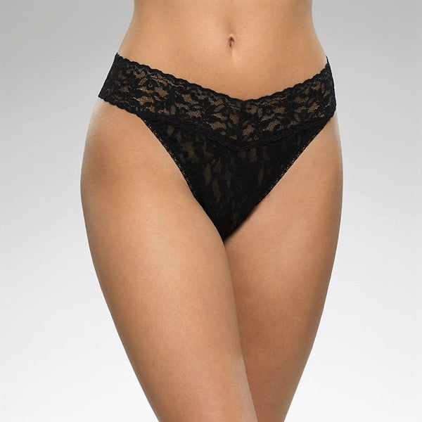 Signature Lace Original Rise Thong (more colors)