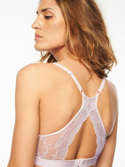 Everyday Lace Racerback Wirefree Bralette