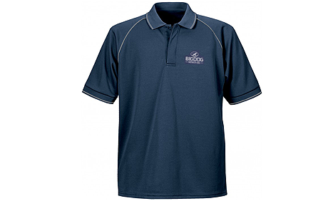 BigDog® Men's Navy Polo Shirt