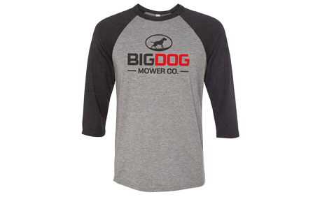 BigDog® Baseball Tee by BELLA+CANVAS®