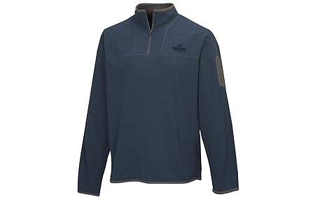 BigDog® Men's Light Weight 1/4 Zip Pullover Indigo/Charcoal