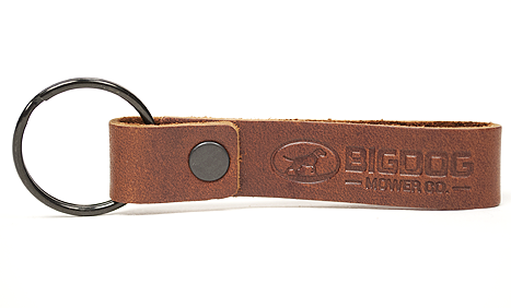 BigDog® Loop Style Leather Keychain