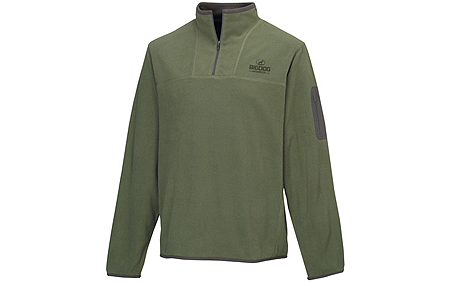 BigDog® Men's Light Weight 1/4 Zip Pullover Light Olive