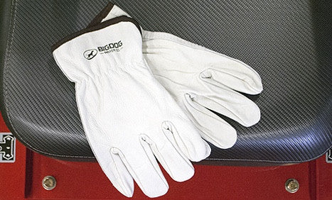 BigDog® Cowhide Leather Drivers Gloves