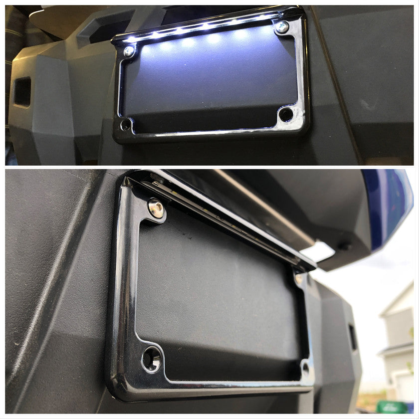 Aluminum LED License Plate