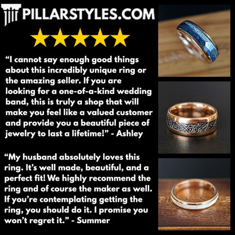 Ring Sizing Mens Wedding Bands