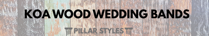 Koa Wood Wedding Bands