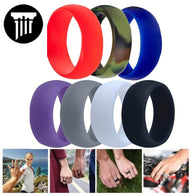 7 Pack Silicone Rings - Pillar Styles