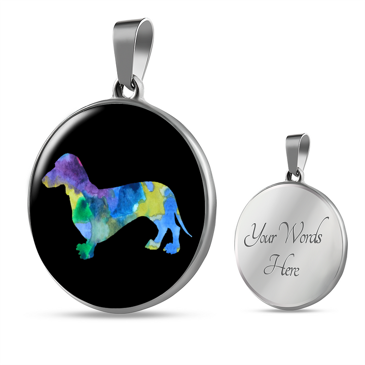 Dachshund Necklace and Bangle - Pillar Styles