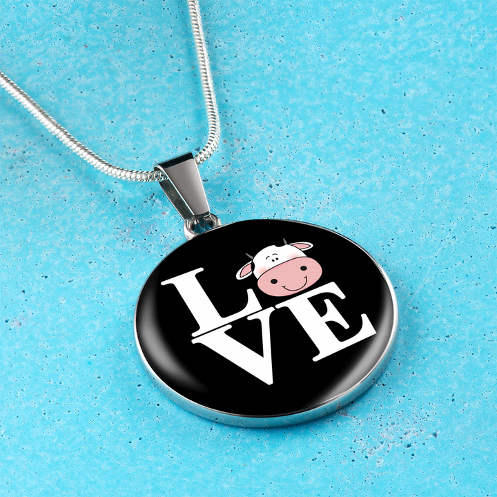 Cow Lovers Necklace and Bangle - Pillar Styles