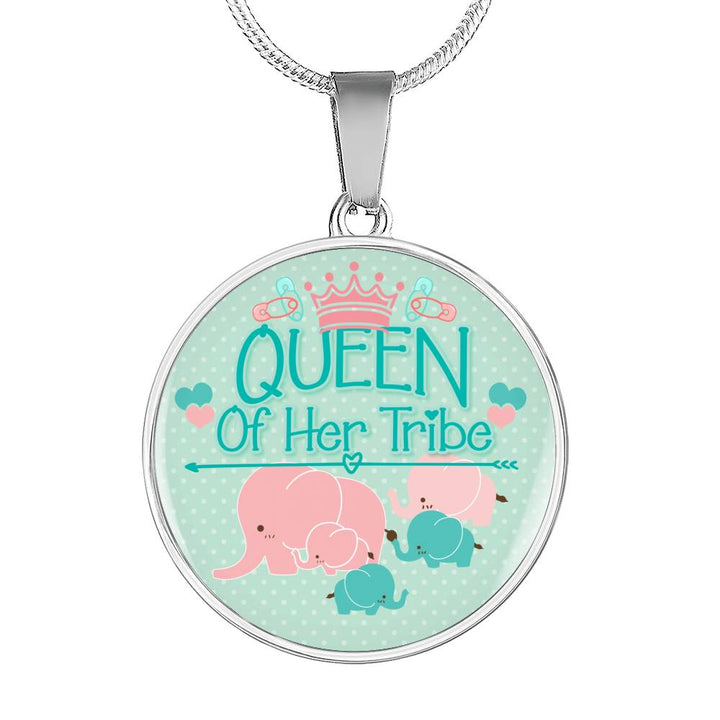 Queen of Her Tribe Necklace