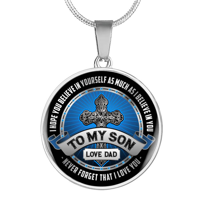 To My Son Necklace - Pillar Styles