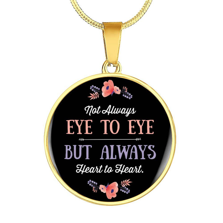 Eye to Eye Round Necklace