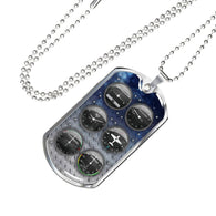 Gauges Dog Tag - Pillar Styles