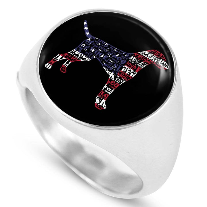 Labrador USA Steel Ring