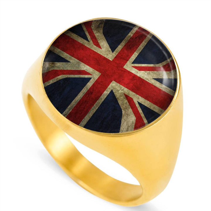 UK Stainless Steel Ring