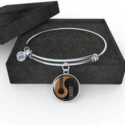 Guitar Ying Yang Necklace and Bangle - Pillar Styles