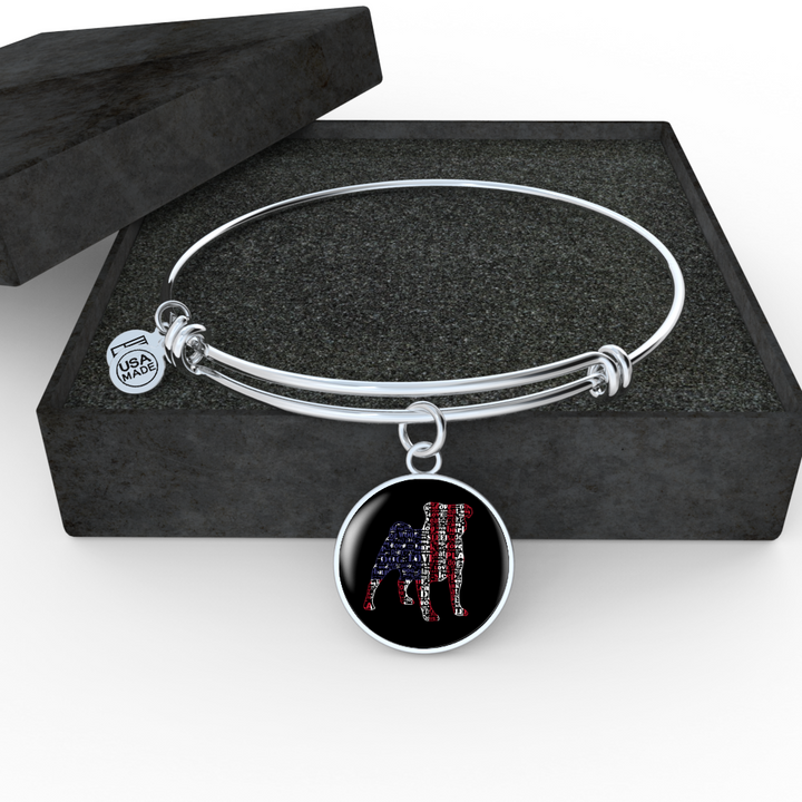 English Bulldog Necklace and Bangle - Pillar Styles