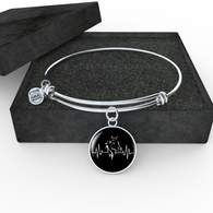 Horse Heartbeat Necklace and Bangle - Pillar Styles