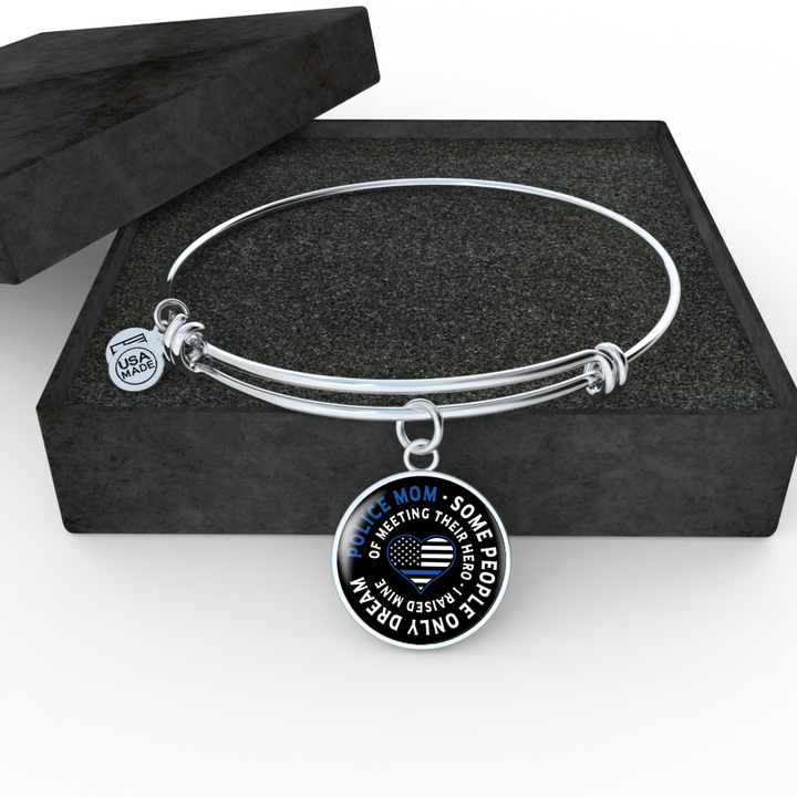Police Mom Necklace and Bangle - Pillar Styles
