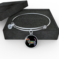 Basset Hound Necklace and Bangle - Pillar Styles