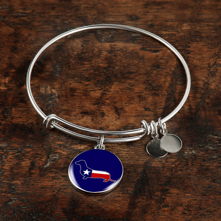 Dachshund Texas Necklace and Bangle - Pillar Styles