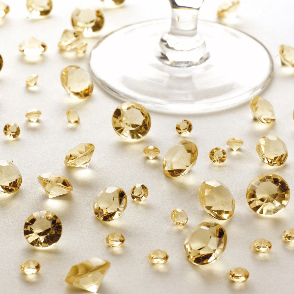 Scatter Crystals in Gold - Wedding Boutique