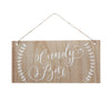 Wooden Candy Bar Sign - Wedding Boutique