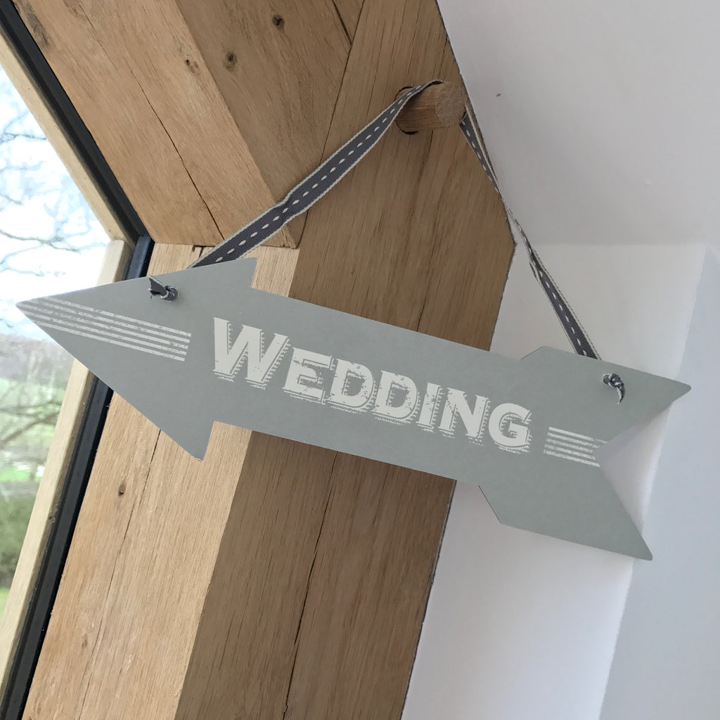 Wedding Hanging Wedding Sign - Wedding Boutique