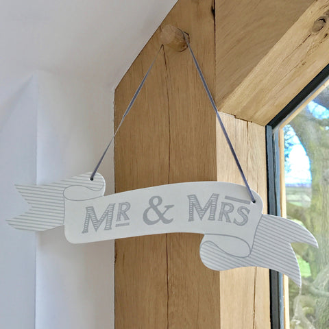 Kraft & Gold Foil Just Married Bunting