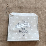 To Have & To Hold Favour Bags x40 - Wedding Boutique