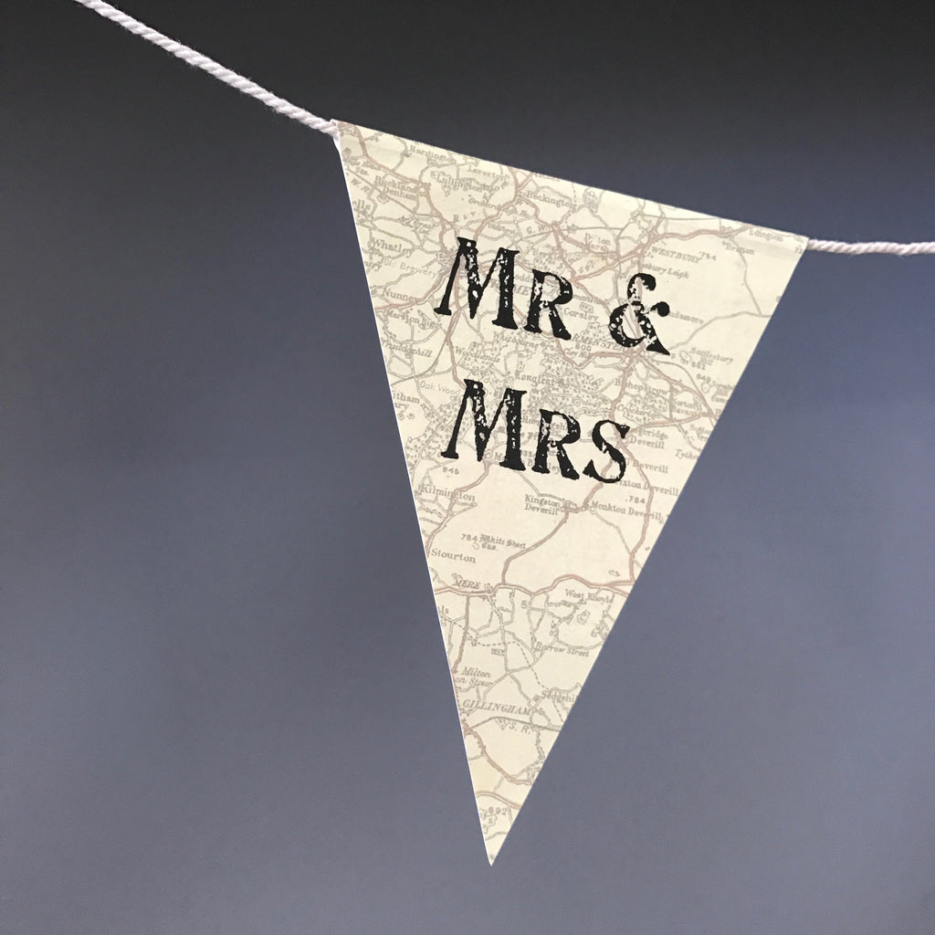 Mr & Mrs Paper Bunting - Wedding Boutique